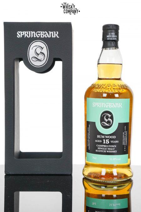 Springbank 2003 Aged 15 Years Rum Wood Single Malt Scotch Whisky (700ml)