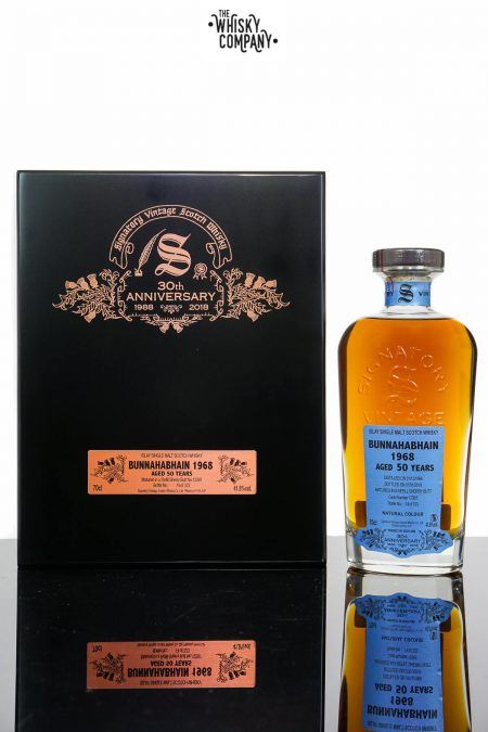 Bunnahabhain 1968 Aged 50 Years Single Malt Scotch Whisky - Signatory Vintage 30th Anniversary (700ml)