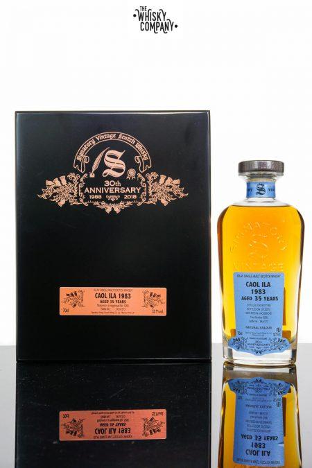 Caol Ila 1983 Aged 35 Years Single Malt Scotch Whisky - Signatory Vintage 30th Anniversary (700ml)