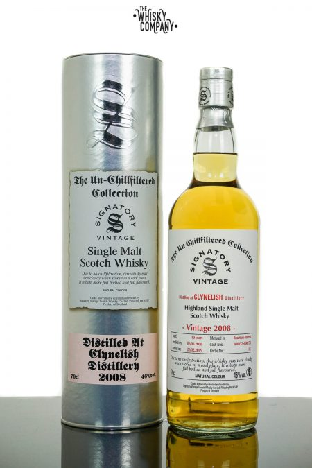 Clynelish 2008 Aged 10 Years Single Malt Scotch Whisky - Signatory Vintage  (700ml)