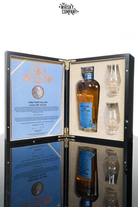 Port Ellen 1982 Aged 35 Years (cask 2040) Single Malt Scotch Whisky - Signatory Vintage 30th Anniversary (700ml)