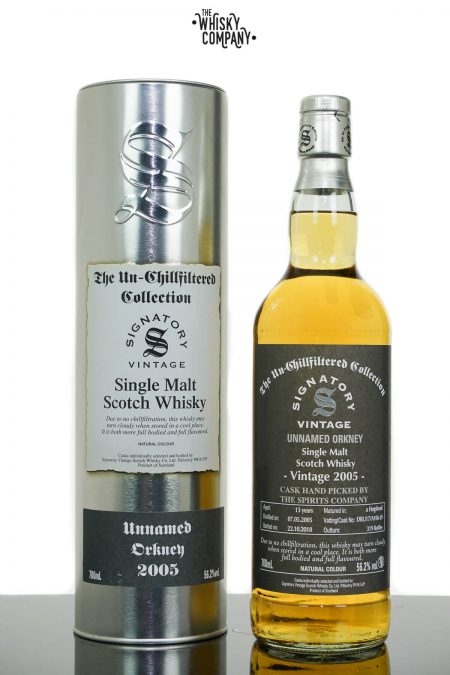 Unnamed Orkney 2005 Aged 13 Years Single Malt Scotch Whisky Australian Exclusive  - Signatory Vintage (700ml)