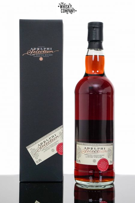 Teaninich 12 Years Old 2009 Single Malt Scotch Whisky - Adelphi (700ml)