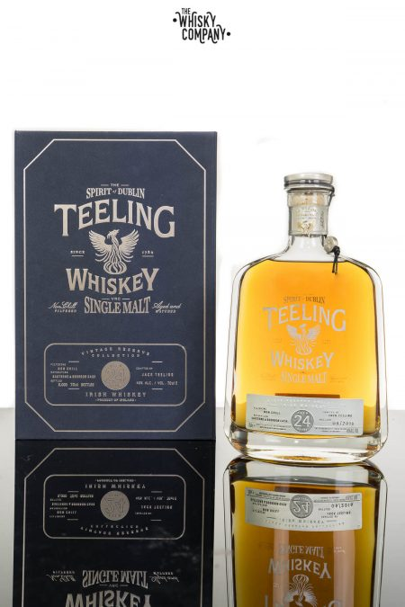 Teeling Aged 24 Years Vintage Reserve Irish Single Malt Whiskey (700ml)