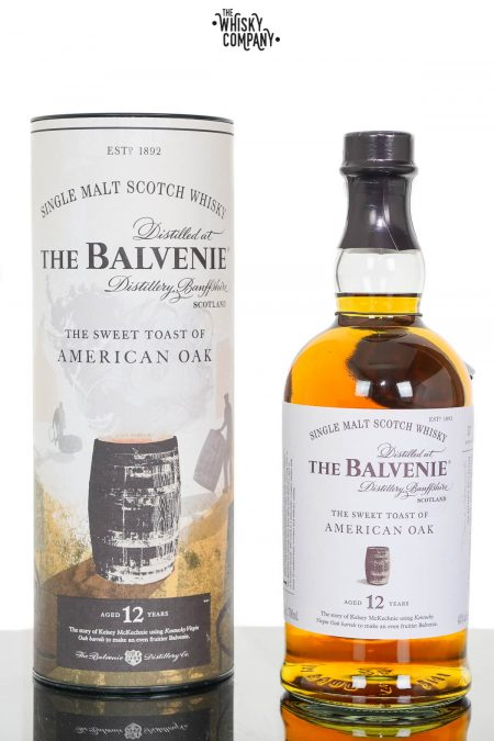 Balvenie Stories The Sweet Toast Of American Oak 12 Years Old Single Malt Scotch Whisky (700ml)