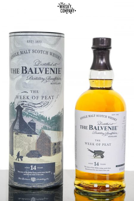 Balvenie Stories Week of Peat 14 Years Old Single Malt Scotch Whisky (700ml)