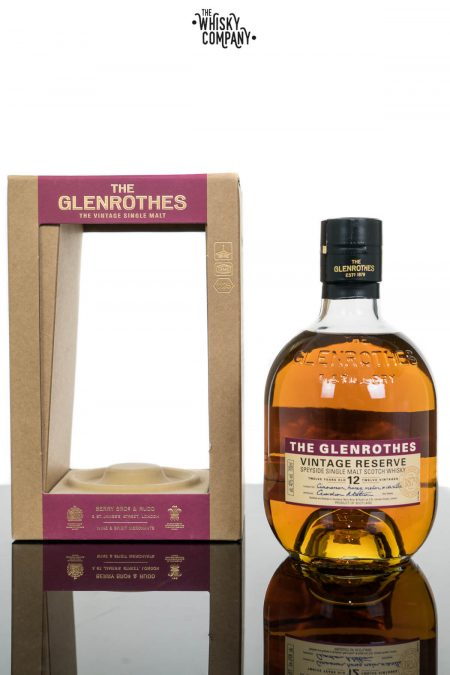 Glenrothes 12 Year Old Vintage Reserve Single Malt Scotch Whisky (700ml)