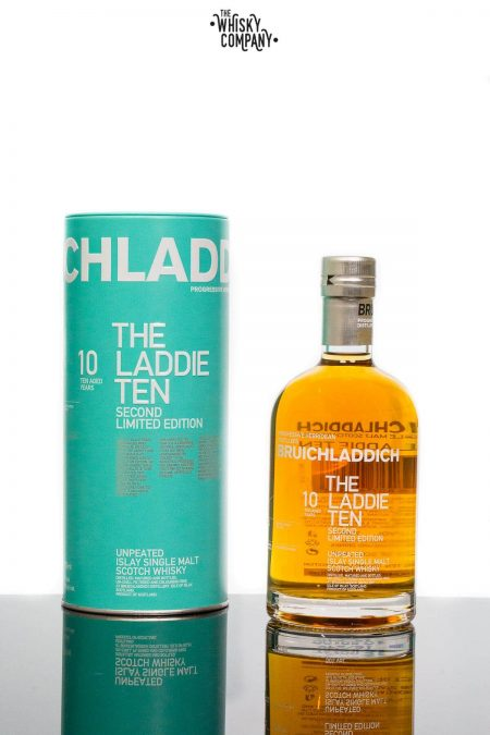 Bruichladdich 'The Laddie Ten' Second Limited Edition Islay Single Malt Scotch Whisky (700ml)