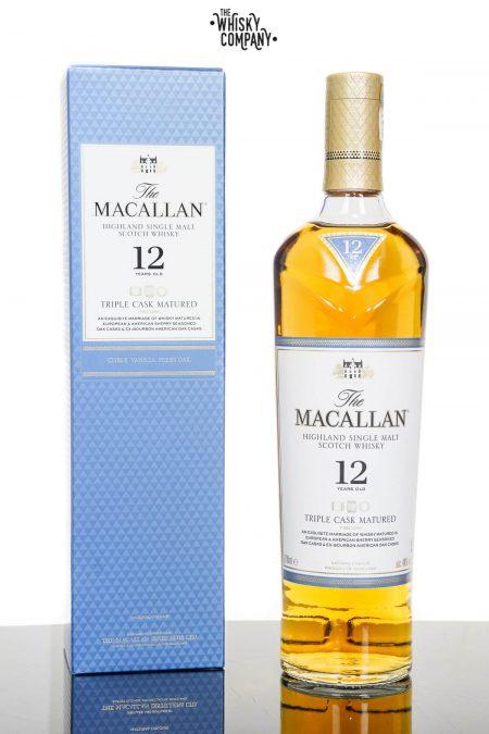 Macallan 12 Years Old Triple Cask Single Malt Scotch Whisky (700ml)