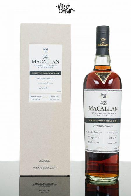 The Macallan Exceptional Single Cask 2017/ESB-8841/03 Single Malt Scotch Whisky (700ml)