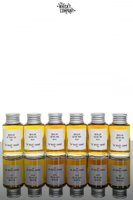 Macallan Editions - Dram Pack - The Whisky Company Whisky Bar (180ml)