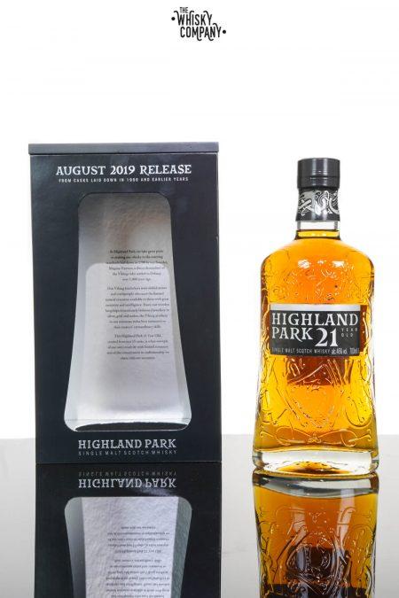 Highland Park 21 Years Old Single Malt Scotch Whisky - 2019 Release (700ml)