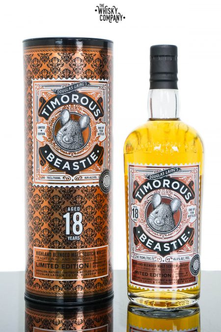 Timorous Beastie Aged 18 Years Blended Malt Scotch Whisky - Douglas Laing (700ml)