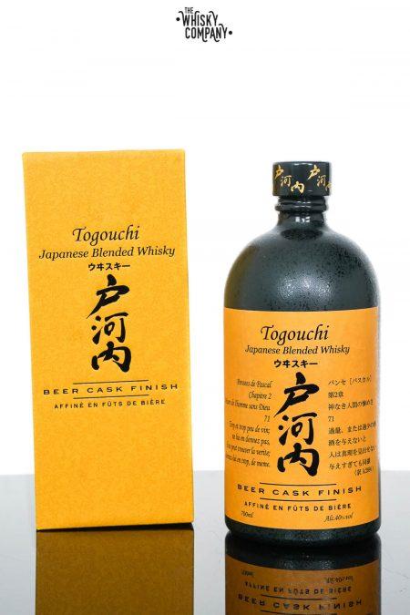 Togouchi Beer Cask Finish Blended Japanese Whisky (700ml)