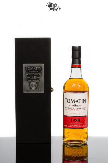 Tomatin 25 Years Old 1988 Vintage Highland Single Malt Scotch Whisky (700ml)