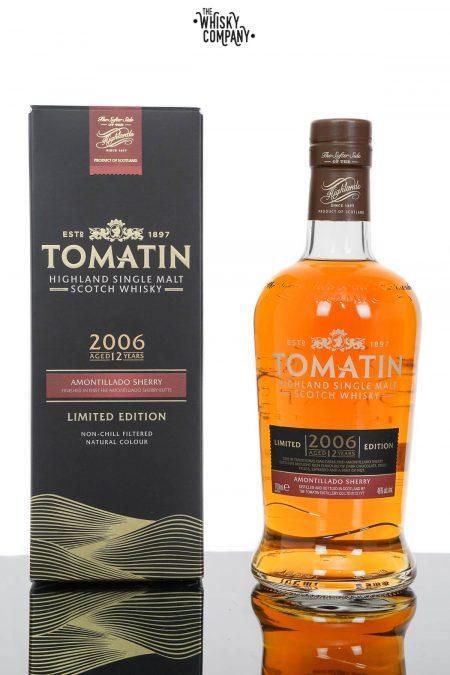 Tomatin 12 Years Old 2006 Amontillado Sherry Cask Finish Single Malt Scotch Whisky (700ml)