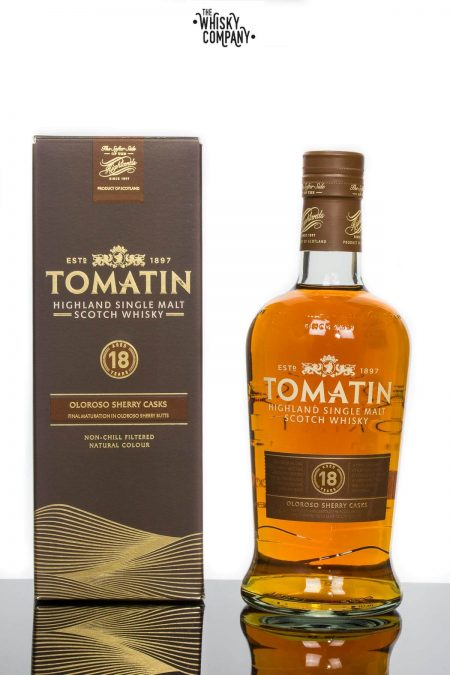 Tomatin 18 Years Old Highland Single Malt Scotch Whisky (700ml)
