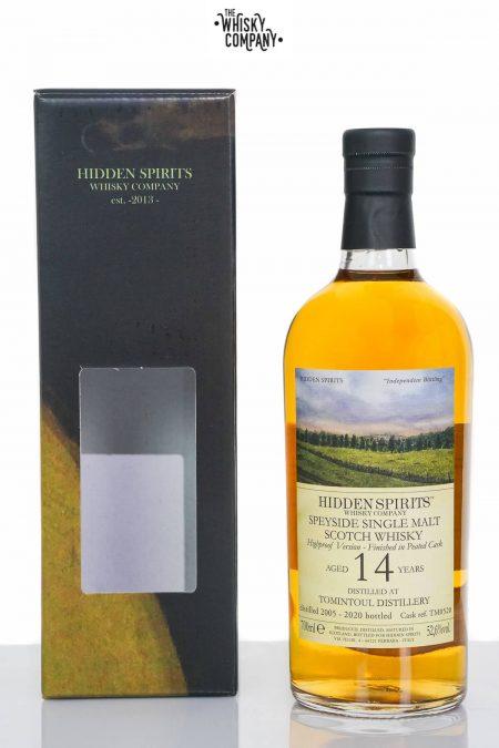 Tomintoul 2005 Aged 14 Years Single Malt Scotch Whisky - Hidden Spirits (700ml)