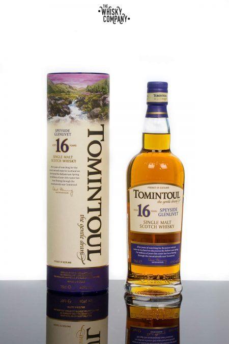 Tomintoul Aged 16 Years Speyside Single Malt Scotch Whisky (700ml)