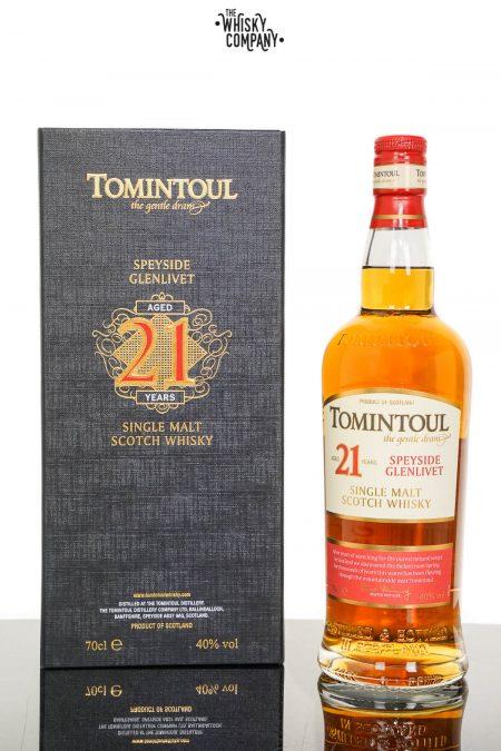 Tomintoul Aged 21 Years Speyside Single Malt Scotch Whisky (700ml)