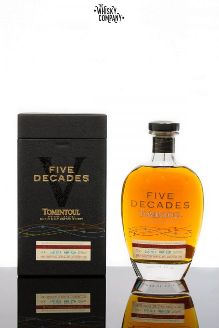 Tomintoul Five Decades 50th Anniversary Speyside Single Malt Scotch Whisky (700ml)