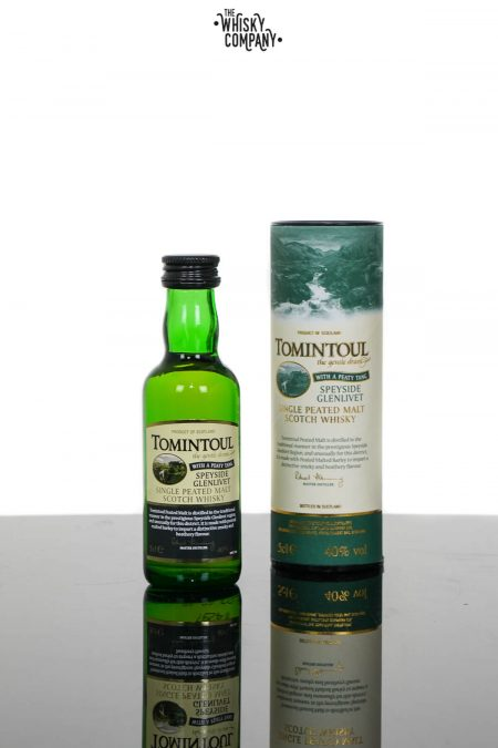 Tomintoul Peaty Tang Speyside Single Malt Scotch Whisky (50ml)