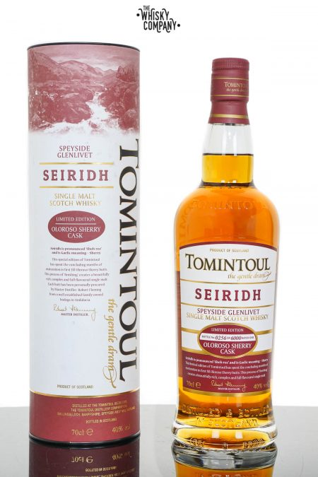 Tomintoul Seiridh Speyside Single Malt Scotch Whisky (700ml)