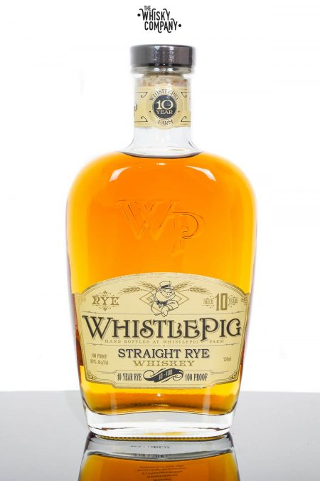 WhistlePig Aged 10 Years 100 Proof Straight Rye Whiskey (750ml)