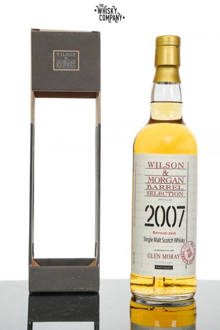 Glen Moray 2007 Aged 9 Years Single Malt Scotch Whisky - Wilson & Morgan (700ml)