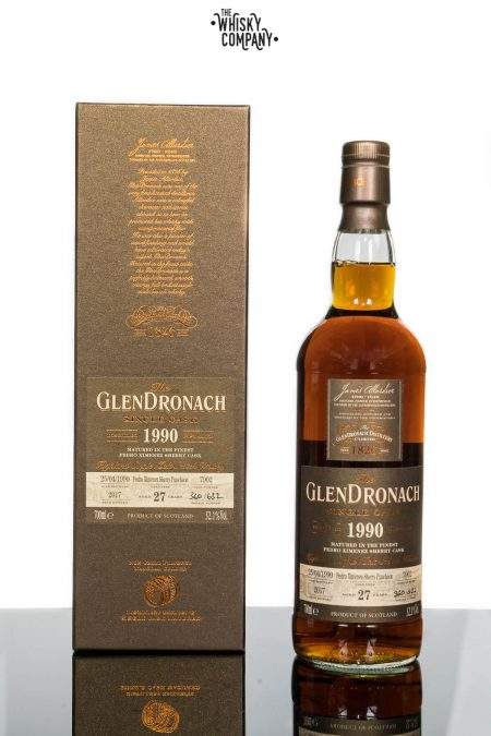 1990 GlenDronach 27 Years Old Single Malt Scotch Whisky - Cask No. 7902 (700ml)