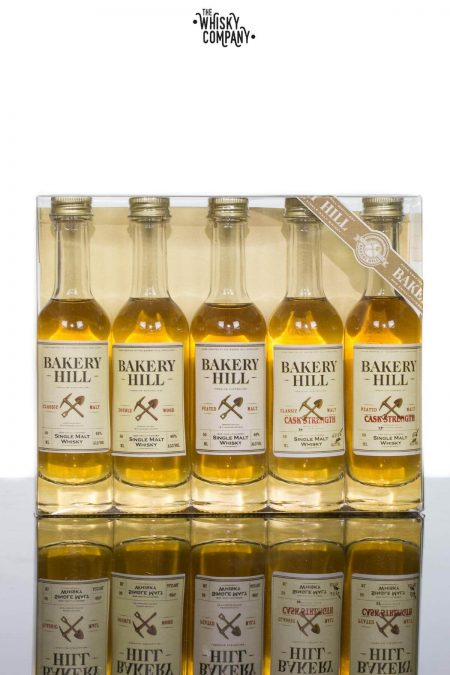 Bakery Hill Australian Single Malt Whisky Miniature Sample Range (5 x 50ml)