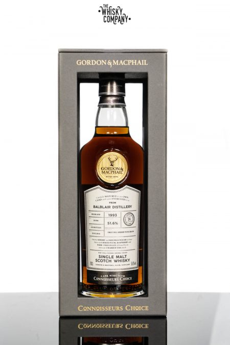 Balblair 24 Years Old 1993 Cask Strength Highland Single Malt Scotch Whisky Gordon & MacPhail (700ml)