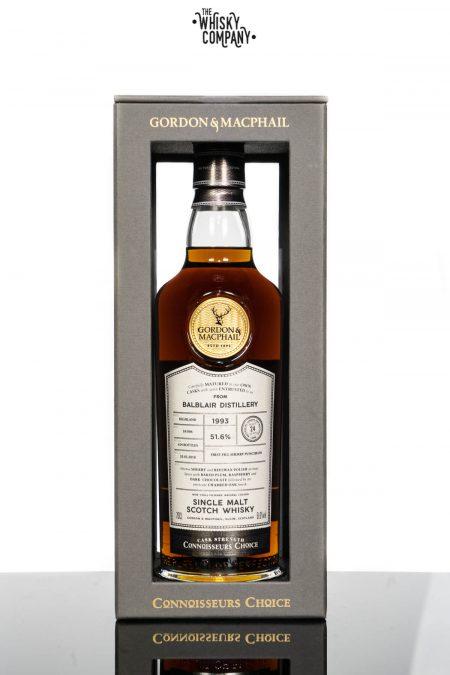 Balblair 24 Years Old 1993 Cask Strength Highland Single Malt Scotch Whisky Gordon & MacPhail (700ml)