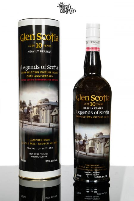 Glen Scotia 10 Years Old Heavily Peated Campbeltown Single Malt Scotch Whisky (700ml)