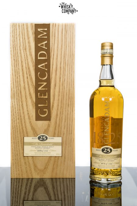 Glencadam 25 Years Old Highland Single Malt Scotch Whisky (700ml)