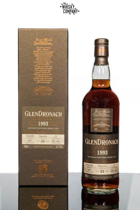 GlenDronach 24 Years Old 1993 Single Cask No. 55 (700ml)