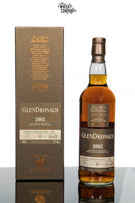 GlenDronach 15 Years Old 2002 Single Cask No. 4648 (700ml)