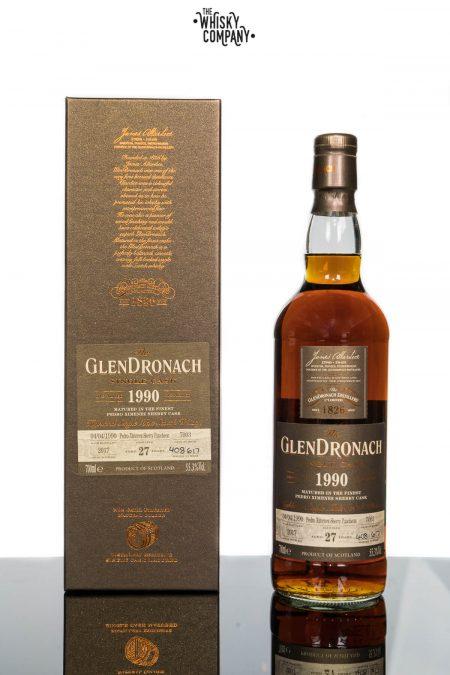 1990 GlenDronach 27 Years Old Single Malt Scotch Whisky - Cask No. 7003 (700ml)