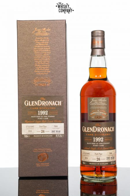 GlenDronach 1992 Aged 26 Years Single Malt Scotch Whisky - Cask 5896 (700ml)