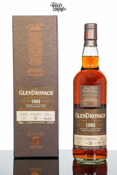 GlenDronach 1995 Aged 23 Years Single Malt Scotch Whisky - Cask 3040 (700ml)