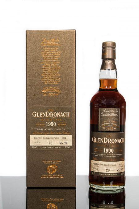 GlenDronach 20 Years Old 1990 Single Cask No. 1032 (700ml)