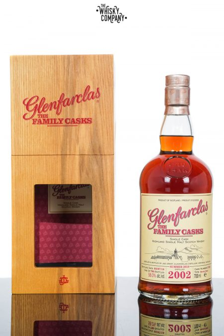 Glenfarclas 2002 Family Cask Single Malt Scotch Whisky - Cask 3769 (700ml)