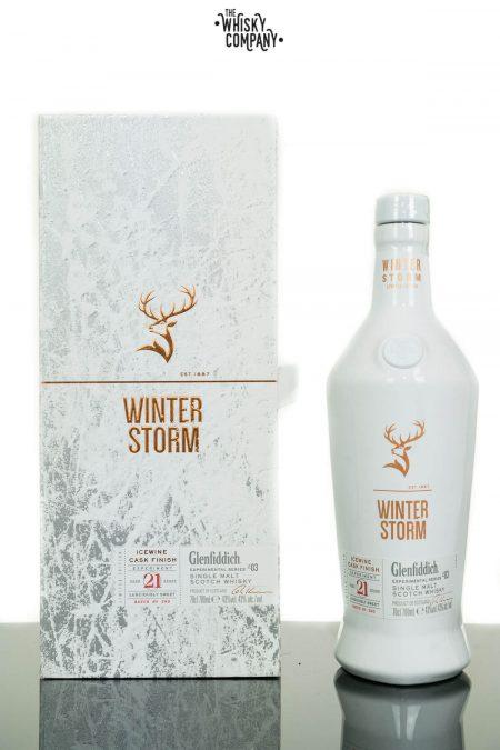 Glenfiddich 21 Years Old Winter Storm Series 3 Single Malt Scotch Whisky (700ml)