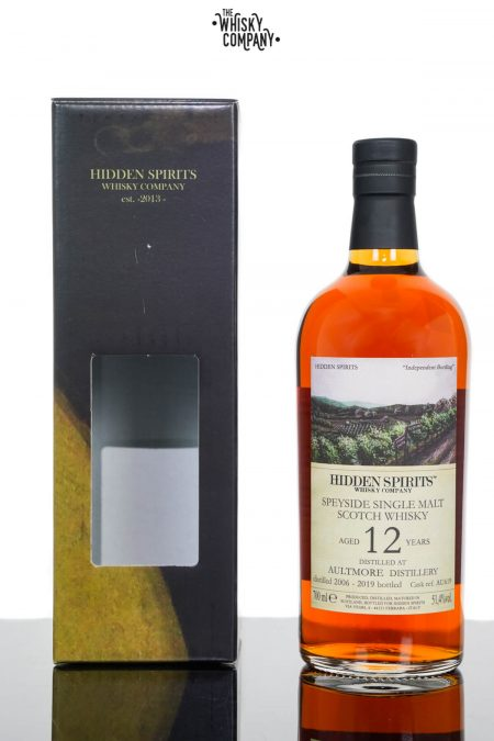 Aultmore 2006 Aged 12 Years Single Malt Scotch Whisky - Hidden Spirits  (700ml)