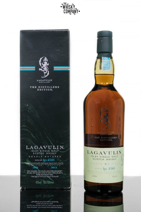 Lagavulin 1998 (bottled 2014) Distillers Edition Islay Single Malt Scotch Whisky (700ml)