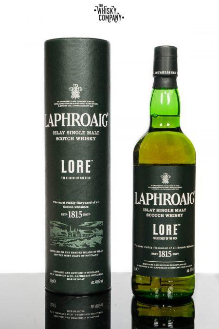 Laphroaig Lore Islay Single Malt Scotch Whisky (700ml)