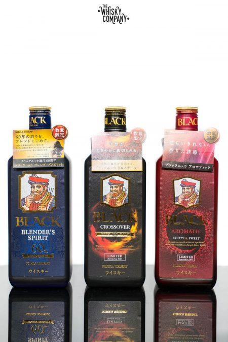 Nikka Black Limited Collection Blended Japanese Whisky (3 x 700ml)