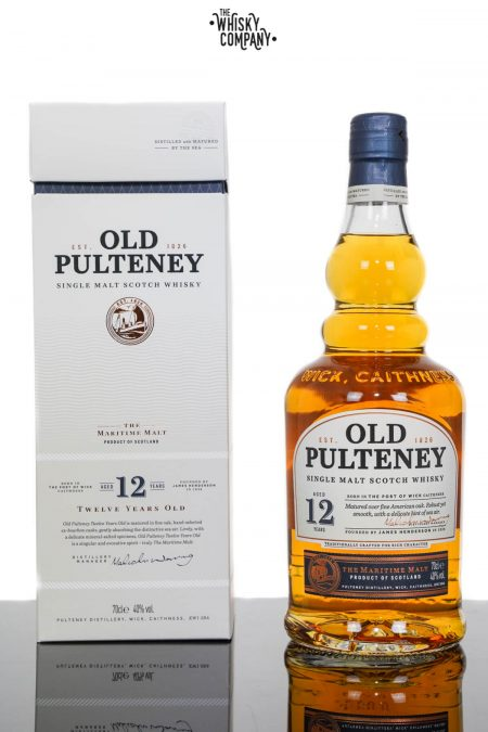 Old Pulteney Aged 12 Years Highland Single Malt Scotch Whisky (700ml)