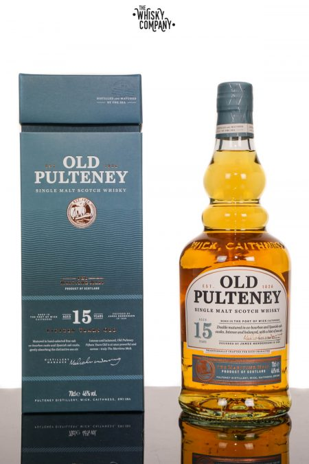 Old Pulteney Aged 15 Years Highland Single Malt Scotch Whisky (700ml)