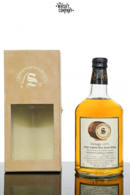 Linlithgow Distillery 1975 Aged 25 Years Single Malt Scotch Whisky - Signatory Vintage (700ml)